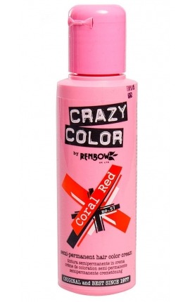 CRAZY COLOR 57 CORAL RED 100ML