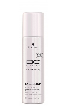 Spray acondicionador volumen BC Excellium Q10+ Collagen Schwarzkopf Professional