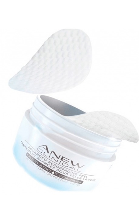 DISCOS EXFOLIANTES FACIALES ANEW CLINICAL AVON