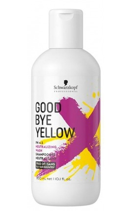 CHAMPÚ NEUTRALIZANTE GOOD BYE YELLOW SCHWARZKOPF PROFESSIONAL