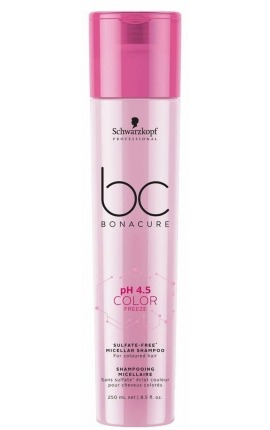BC BONACURE PH 4,5 COLOR FREEZE CHAMPÚ SIN SULFATOS SCHWARZKOPF PROFESSIONAL