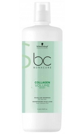 Champú micelar BC Collagen Volume Boost 1000ML Schwarzkopf Professional