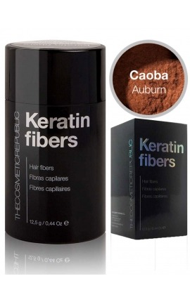 Fibras capilares Keratin caoba The Cosmetic Republic