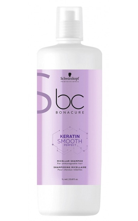 Champú micelar BC Keratin Smooth Perfect Schwarzkopf Professional