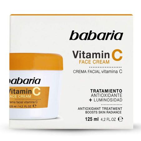 Crema facial Vitamina C Babaria