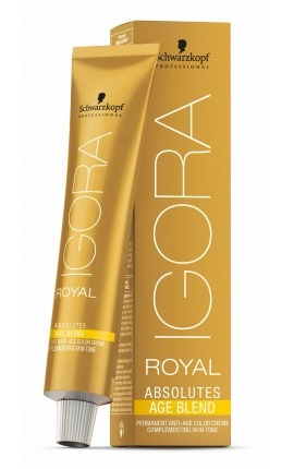 TINTE IGORA ROYAL ABSOLUTES AGE BLEND SCHWARZKOPF PROFESSIONAL