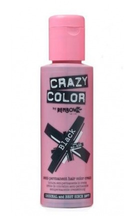 CRAZY COLOR 030 BLACK 100ML