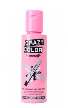 CRAZY COLOR 027 SILVER 100ML