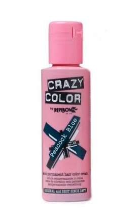 CRAZY COLOR 45 PEACOCK BLUE 100ML