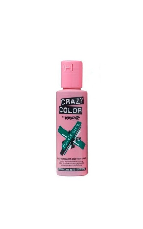CRAZY COLOR 53 EMERALD GREEN 100ML