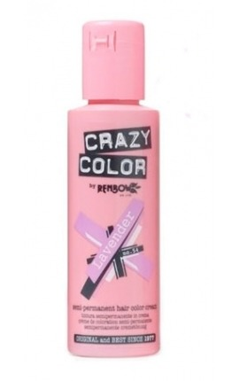 CRAZY COLOR 54 LAVENDER 100ML